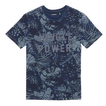 Textil Rapaz T-Shirt mangas curtas Ikks XS10153-46-J Marinho