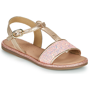 Sapatos Rapariga Sandálias Mod'8 PAILLETTA Rosa