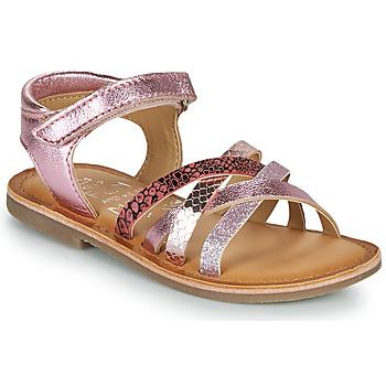Sapatos Rapariga Sandálias Mod'8 CANILA Rosa
