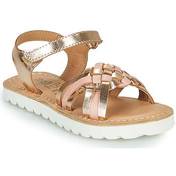 Sapatos Rapariga Sandálias Mod'8 JOKINE Rosa