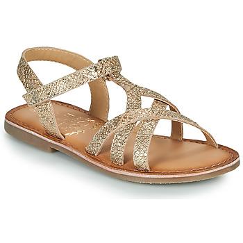 Sapatos Rapariga Sandálias Mod'8 CANISA Ouro