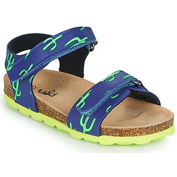 Sapatos Rapaz Sandálias Mod'8 KOURTIS Azul / Verde