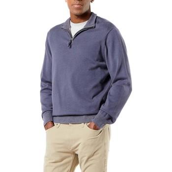 Textil Homem Sweats Dockers ALPHA PLAITED 1/4 ZIP cinza