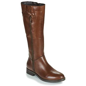 Sapatos Mulher Botas Betty London JANKA Castanho