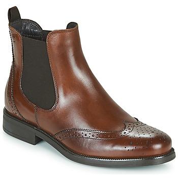 Sapatos Mulher Botas baixas Betty London JOSTA Castanho