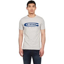 Textil Homem T-Shirt mangas curtas G-Star Raw D15104-336-A302 IT GREY HTR Gris