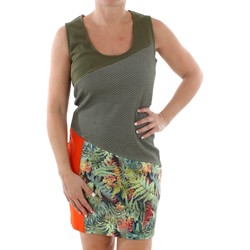 Textil Mulher Vestidos curtos Smash CADIZ DRESS ARMY 38 Verde