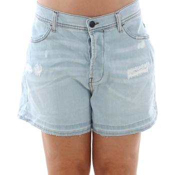 Textil Mulher Shorts / Bermudas Sisley 4Z9R59206 SIS Azul claro