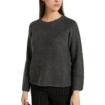 Textil Mulher camisolas Jacqueline De Yong  Cinza