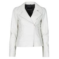 Textil Mulher Casacos de couro/imitação couro Oakwood MARJORY Branco