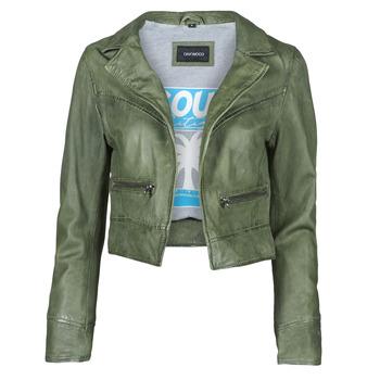 Textil Mulher Casacos de couro/imitação couro Oakwood TRISH Verde