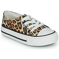 Sapatos Rapariga Sapatilhas Citrouille et Compagnie OTAL Leopardo