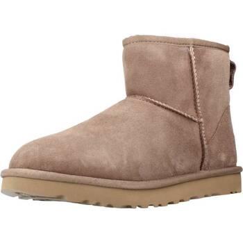 Sapatos Mulher Botas de neve UGG CLASSIC MINI II Marron