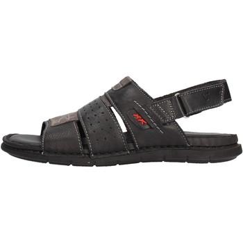 Sapatos Homem Sandálias Valleverde - Sandalo nero 20831 NERO