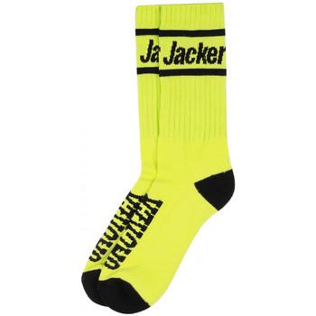 Acessórios Homem Meias Jacker After logo socks Verde
