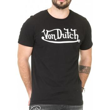 Textil Homem T-Shirt mangas curtas Von Dutch  Preto