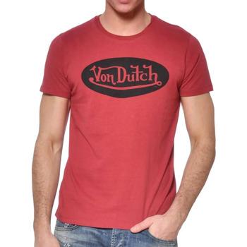 Textil Homem T-Shirt mangas curtas Von Dutch  Vermelho