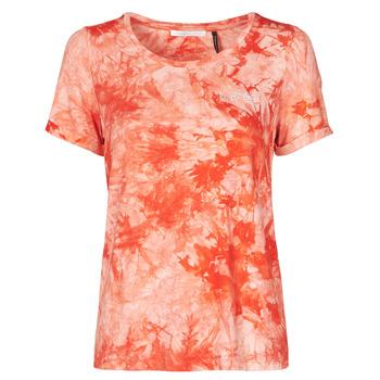 Textil Mulher T-Shirt mangas curtas Les Petites Bombes BRISEIS Laranja