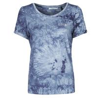 Textil Mulher T-Shirt mangas curtas Les Petites Bombes BRISEIS Marinho