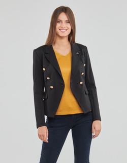 Textil Mulher Casacos/Blazers Les Petites Bombes AGATHE Preto