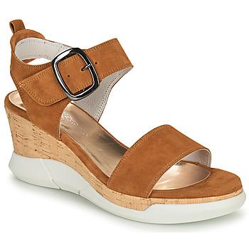 Sapatos Mulher Sandálias Philippe Morvan AMOR V1 Castanho