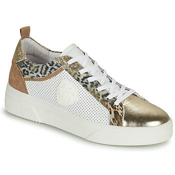 Sapatos Mulher Sapatilhas Philippe Morvan SOAPY V3 Branco / Castanho