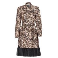 Textil Mulher Vestidos curtos Liu Jo WA1218-T9147-T9680 Leopardo