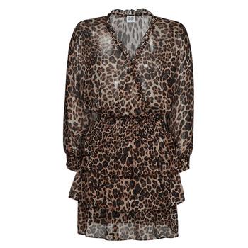 Textil Mulher Vestidos curtos Liu Jo WA1530-T5059-T9680 Leopardo