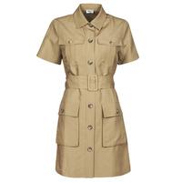 Textil Mulher Vestidos curtos Liu Jo WA1301-T4818-X0365 Bege