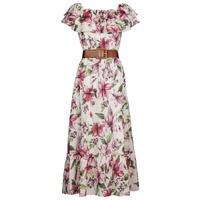 Textil Mulher Vestidos compridos Liu Jo WA1496-T5976-T9706 Florido