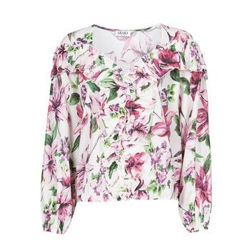 Textil Mulher Tops / Blusas Liu Jo WA1084-T5976-T9706 Florido