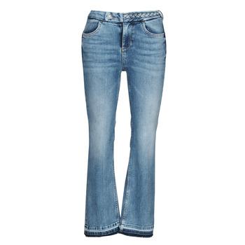 Textil Mulher Calças de ganga bootcut Liu Jo MONROE Azul
