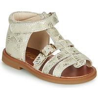 Sapatos Rapariga Sandálias GBB PHILIPPINE Bege / Ouro