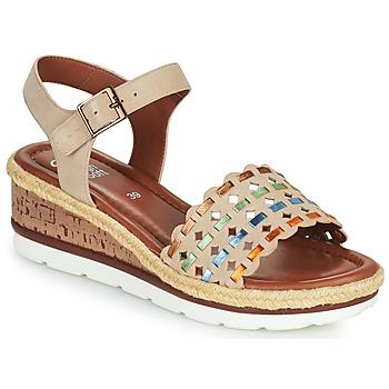 Sapatos Mulher Sandálias Ara CADIZ-S Bege