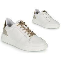 Sapatos Rapariga Sapatilhas BOSS NILLA Branco / Ouro