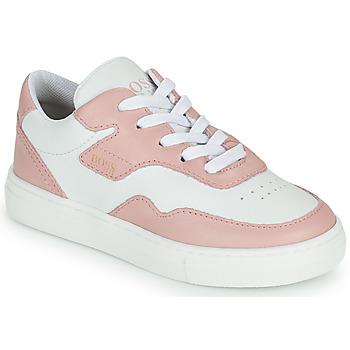 Sapatos Rapariga Sapatilhas BOSS PAOLA Branco / Rosa