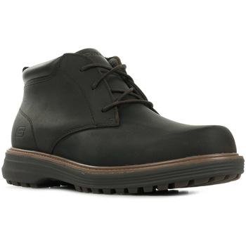 Sapatos Homem Sapatos & Richelieu Skechers Wenson Osteno Castanho