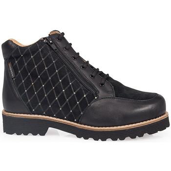 Sapatos Mulher Botas baixas Calzamedi CALÇAMEDI 0711 NEGRO