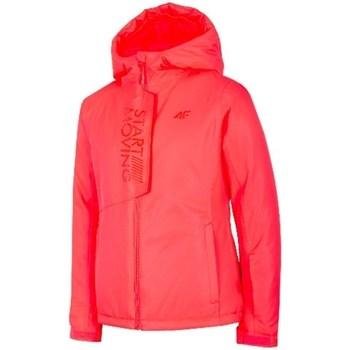 Textil Rapariga Casacos  4F JKUDN001 Vermelho