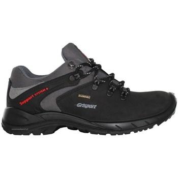 Sapatos Homem Sapatos de caminhada Grisport 11106N191G Preto, Cinzento