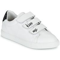 Sapatos Mulher Sapatilhas Bons baisers de Paname EDITH KISS ME Branco