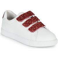 Sapatos Mulher Sapatilhas Bons baisers de Paname EDITH BACK LIPS Branco