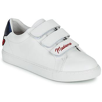 Sapatos Mulher Sapatilhas Bons baisers de Paname EDITH MADAME MONSIEUR Branco