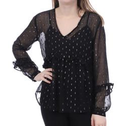 Textil Mulher Tops / Blusas Jacqueline De Yong  Preto