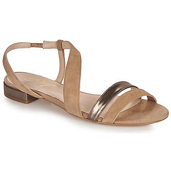 Sapatos Mulher Sandálias Betty London OCOLI Bege