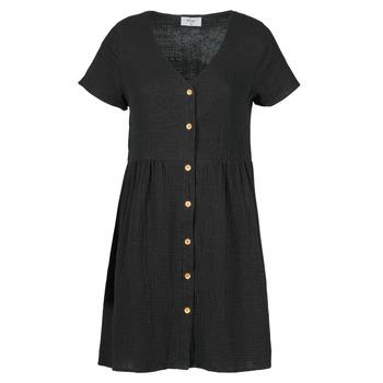 Textil Mulher Vestidos curtos Betty London MARDI Preto