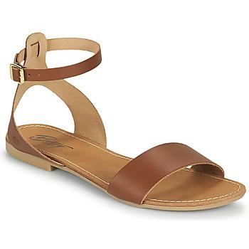 Sapatos Mulher Sandálias Betty London GIMY Camel