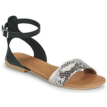 Sapatos Mulher Sandálias Betty London GIMY Preto / Cinza