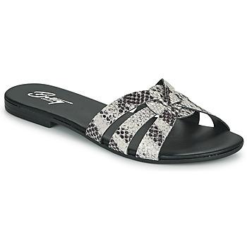Sapatos Mulher Chinelos Betty London OIGILE Cinza