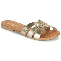 Sapatos Mulher Chinelos Betty London OIGILE Ouro